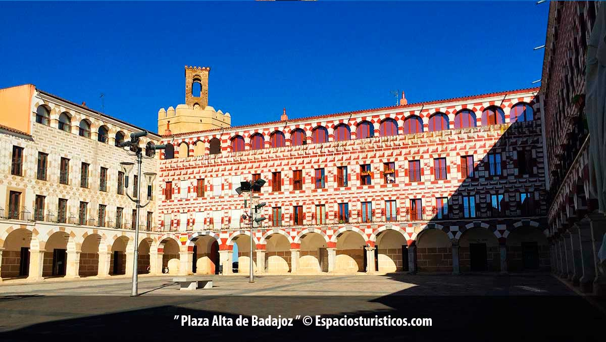 Plaza Alta de Badajoz / Extremadura / España