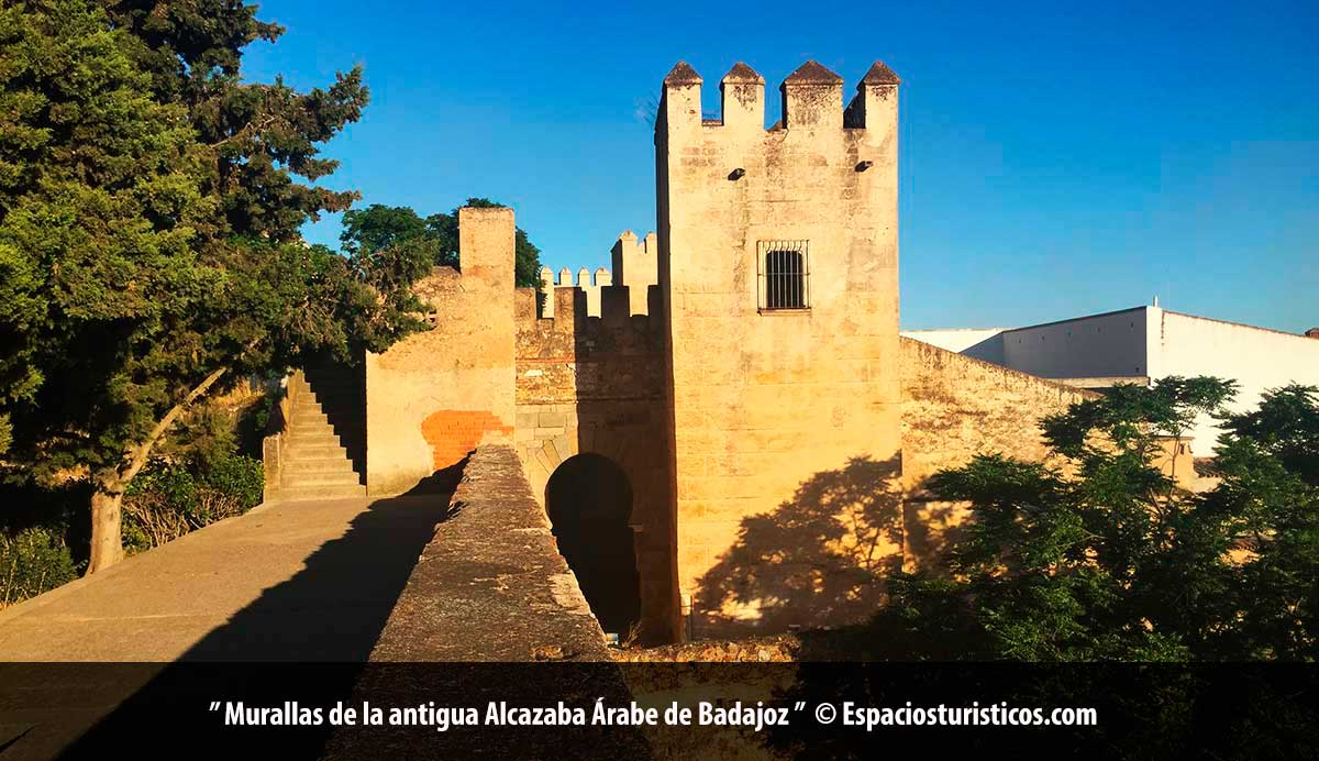 Murallas de la antigua Alcazaba de Badajoz