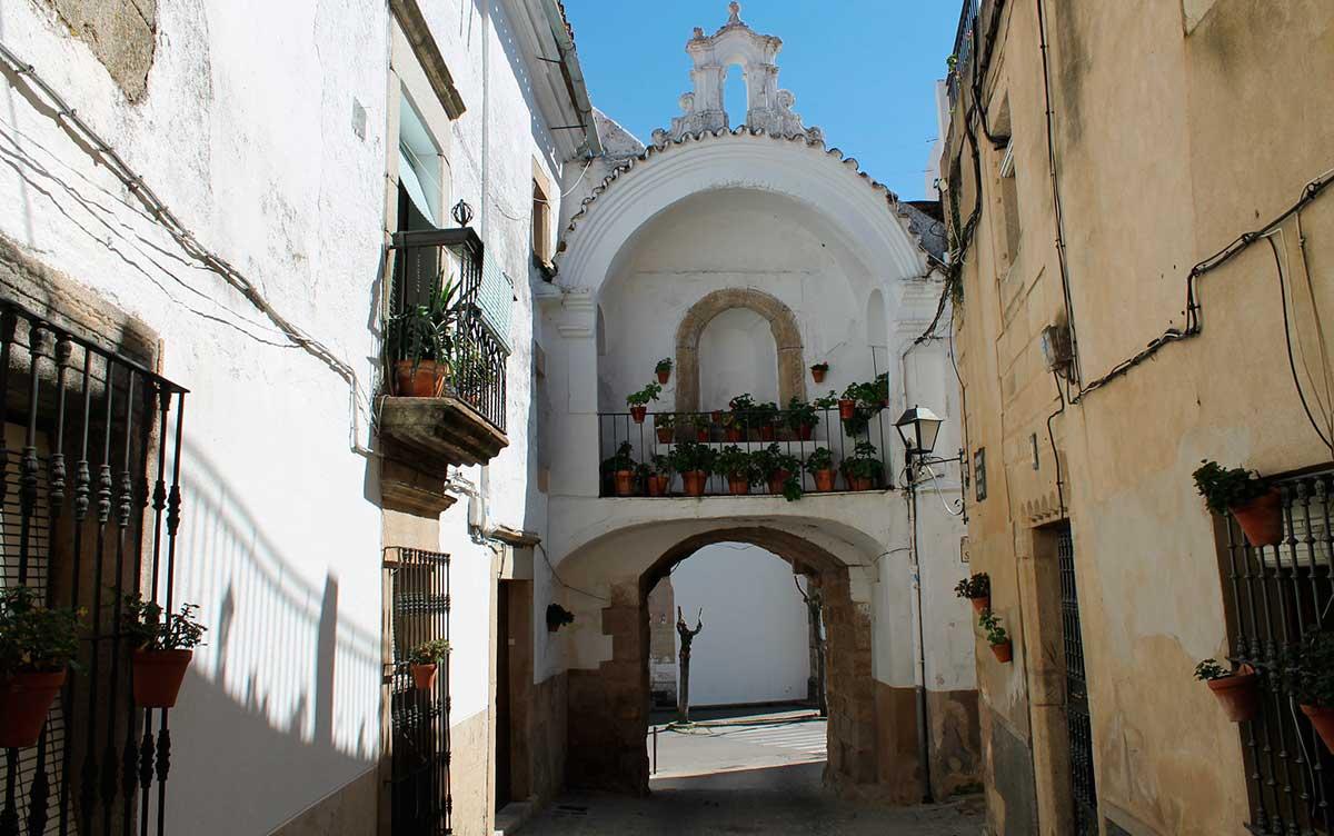 Puerta de la Villa de Alburquerque