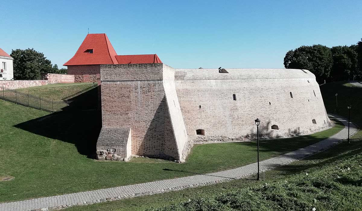 Bastion of vilnius defensive hall.