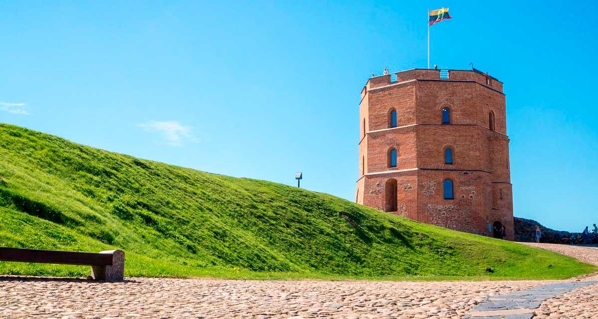 Upper Castle. de Vilnius