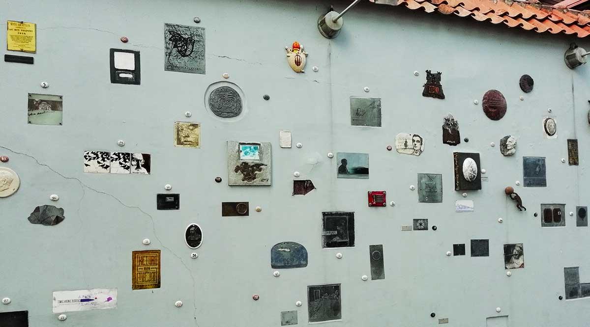Calle de la literatura de Vilnius
