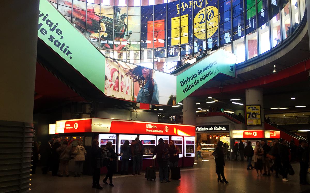 Centro comercial de la Estación de Atocha