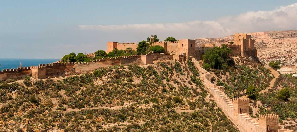 Alcazaba árabe de Almería