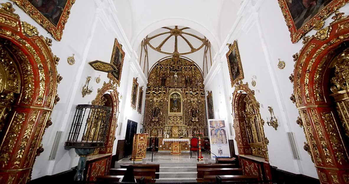 Interior Iglesia de las Puras de Almería