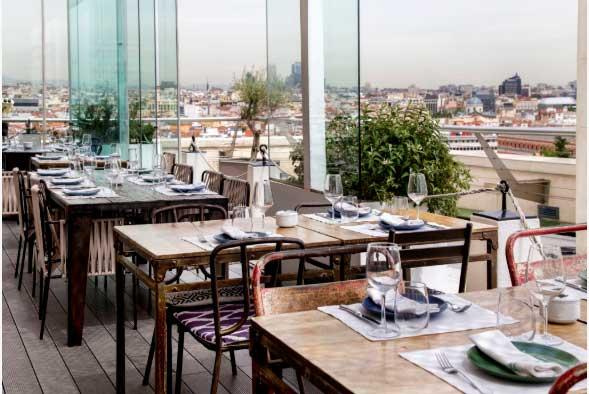 Restaurante Azotea Circulo de Bellas Artes