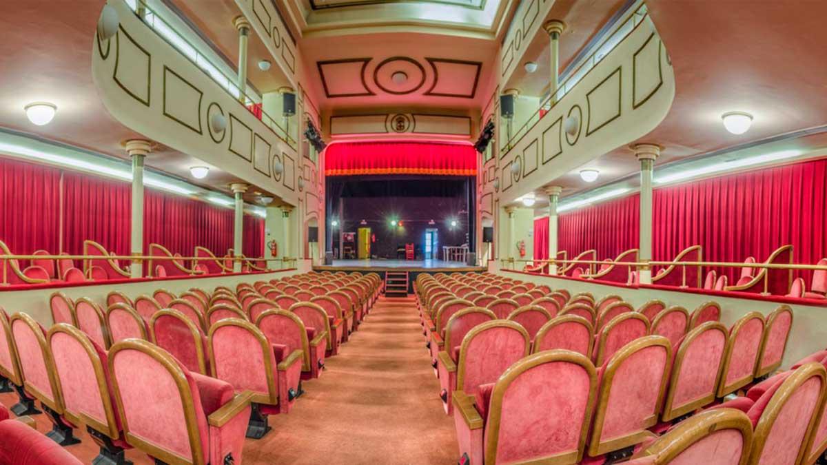 Interior del Teatro Apolo de Almería