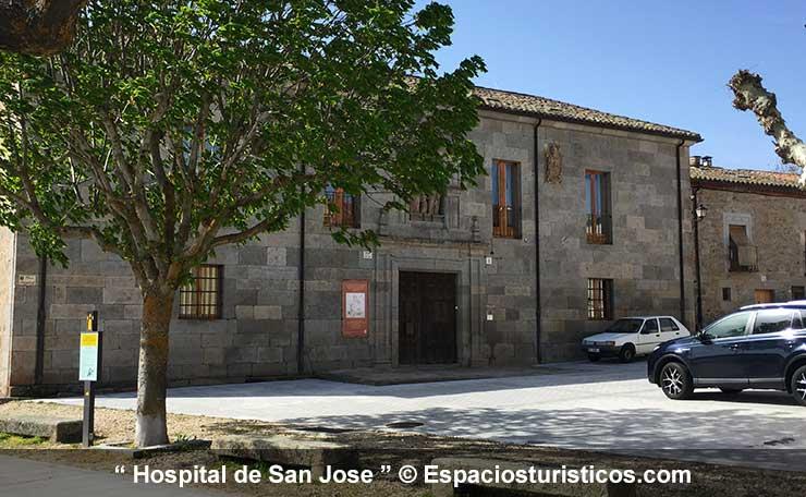 fachada principal del Hospital de San Jose de Ledesma