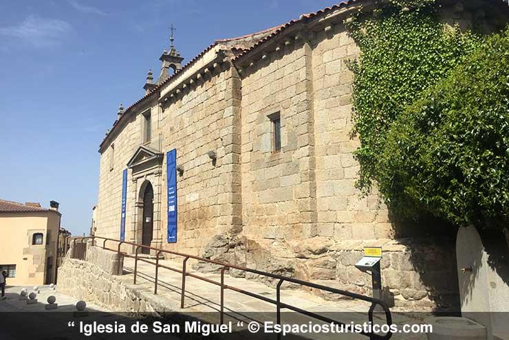 Iglesia de San Miguel - Centro Interpretativo histórico de Ledesma