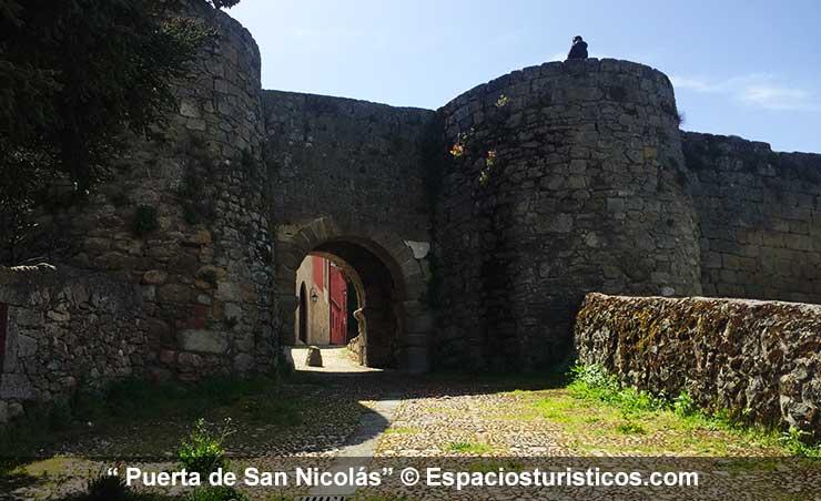 Puerta de San Nicolás en Ledesma