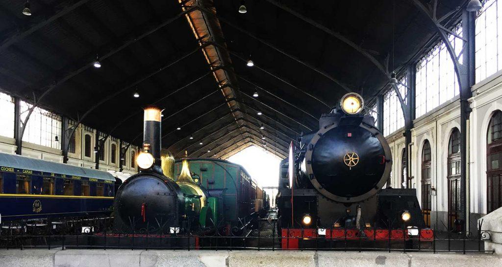 Que ver en el museo del ferrocarril de Madrid