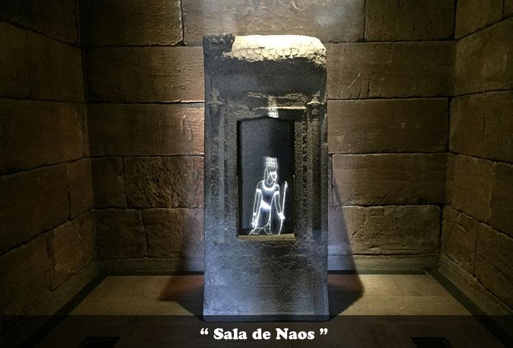 Sala de Naos del Templo de Debod