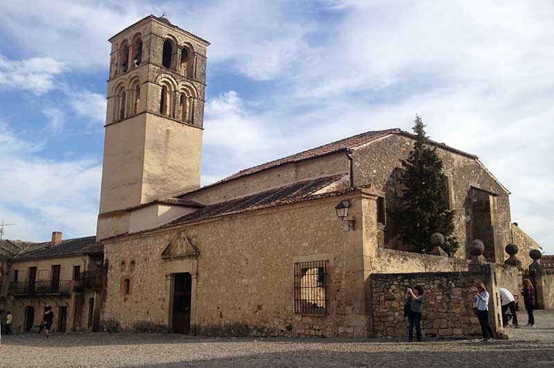 Pedraza iglesia San Juan Bautista
