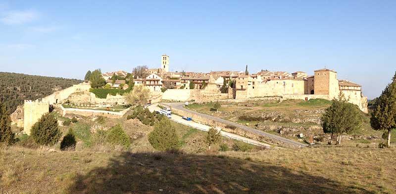 Panorámica de la villa de Pedraza