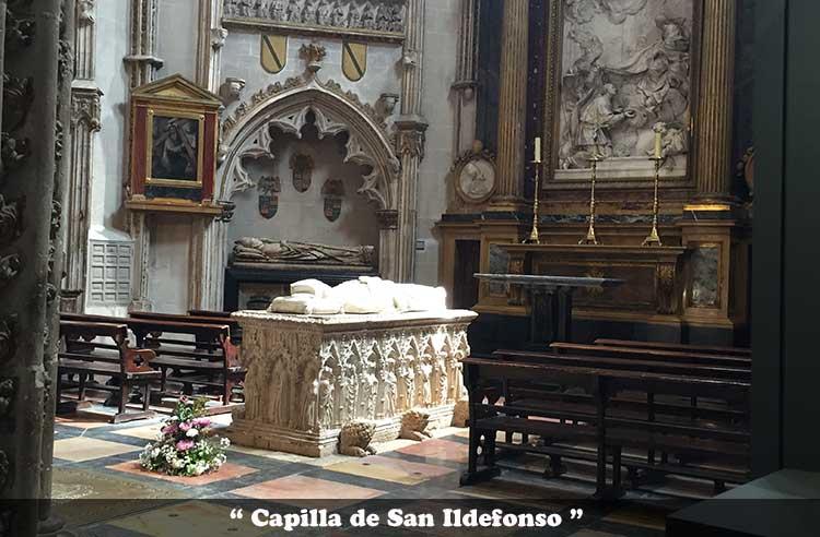 Capilla de San Ildefonso de la Catedral de Toledo