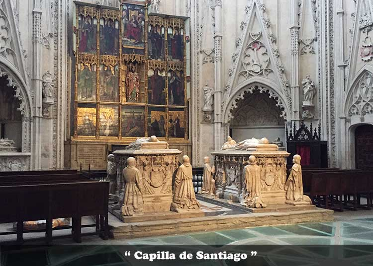 Capilla de Santiago de la catedral de toledo