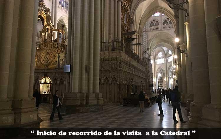 Interior Catedral Primada de Toledo