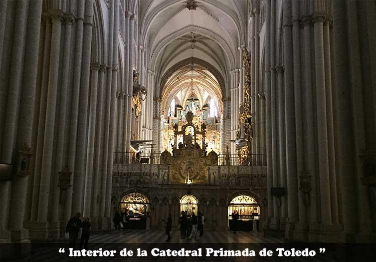 nave principal de la Catedral Primada de Toledo