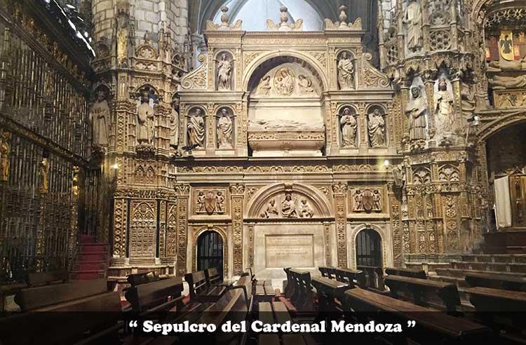 Sepulcro del Cardenal Mendoza
