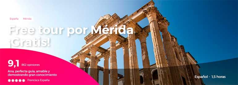 free tour por Mérida