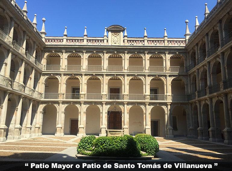 Patio de Santo Tomás de Villanueva