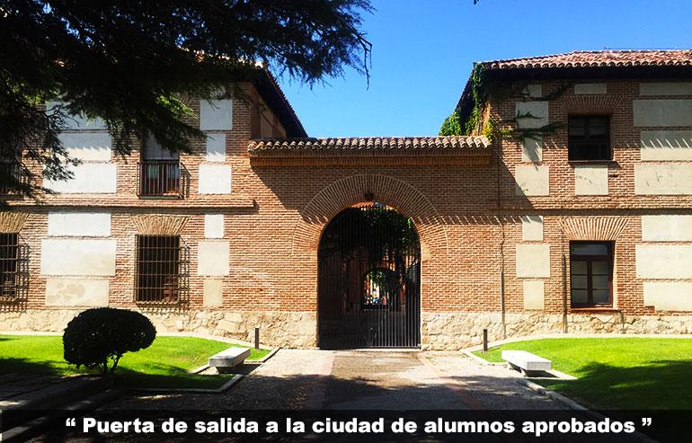visitar el Colegio Mayor de San Ildefonso de Alcalá de Henares