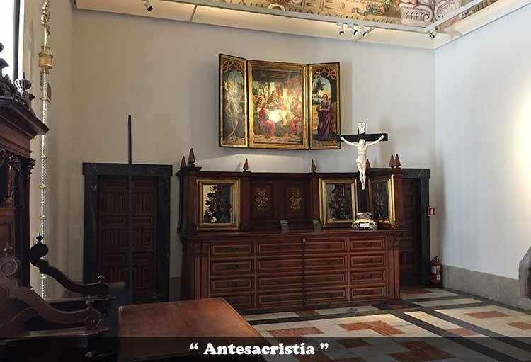 Antesacristía de la Catedral de Toledo