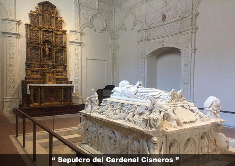 Sepulcro del Cardenal Cisneros