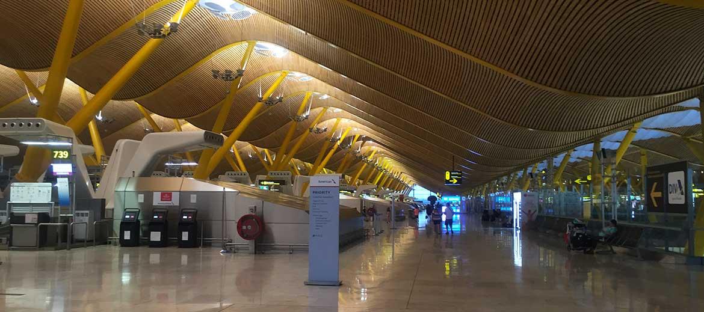 aeropuerto Adolfo Suarez Madrid Barajas