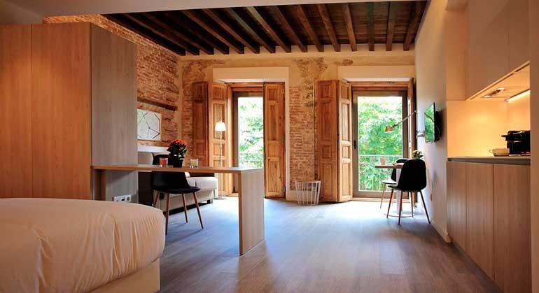 Hotel San Lorenzo Suites.