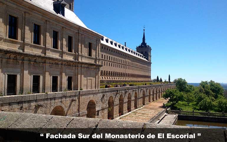 fachada sur monasterio de el escorial