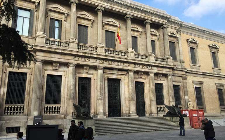 Fachada Museo Arqueológico de Madrid