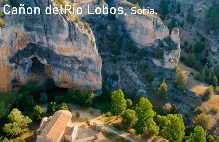 Cañon de Rio Lobo, Soria.