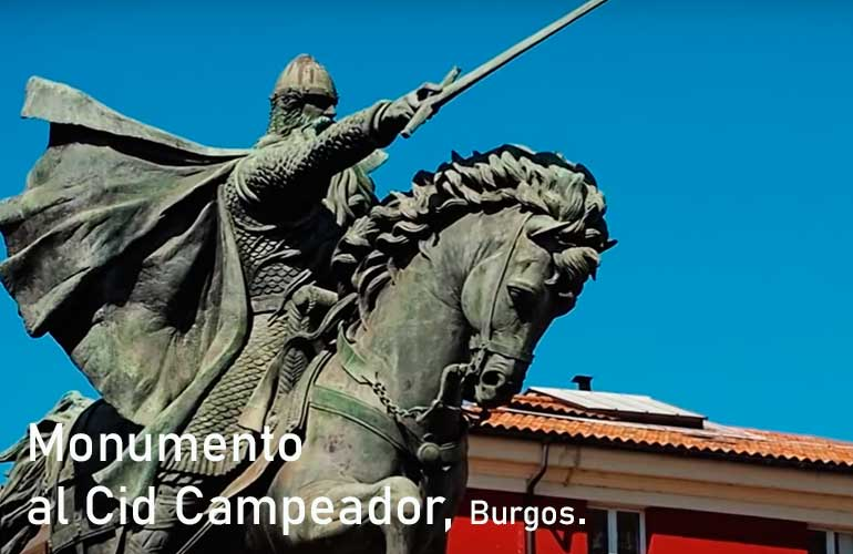 Monumento al Cid Campeador, Burgos.