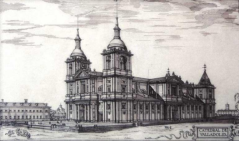 Proyecto ideal de Juan de Herrera para la catedral vallisoletana según Fernando Chueca Goitia