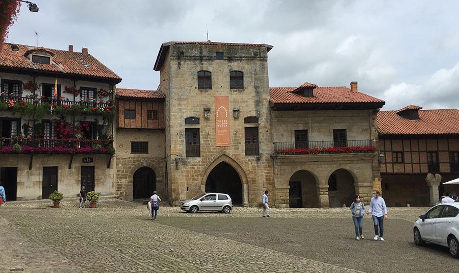 Torre de Merino en Santillana del Mar