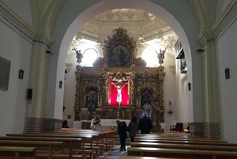 iglesia del Hospital de la Purísima Concepción