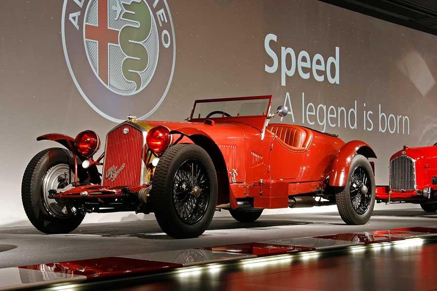Museo Alfa Romeo en Milán