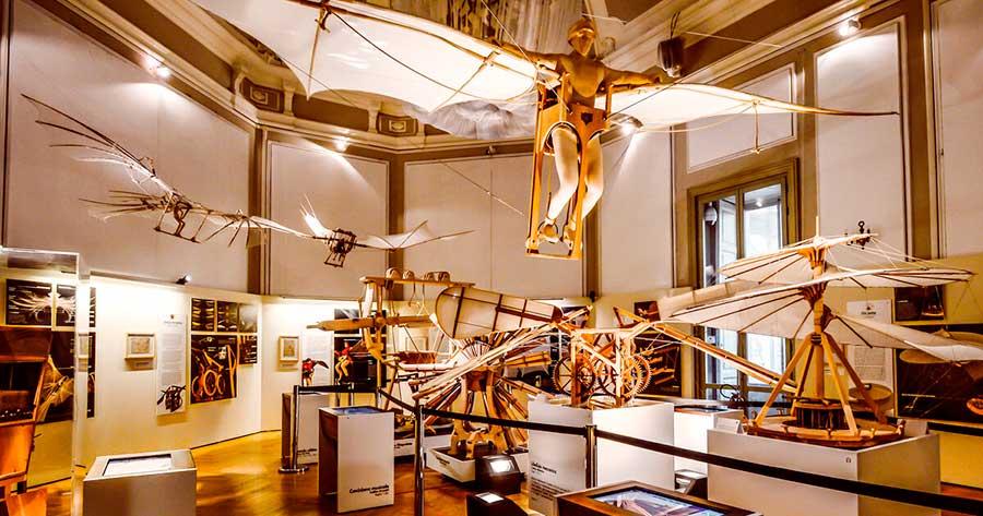 Museo Leonardo da Vinci de Milán