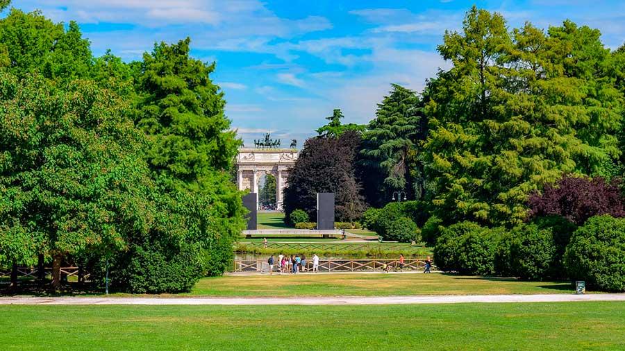 Parco Sempione de Milán
