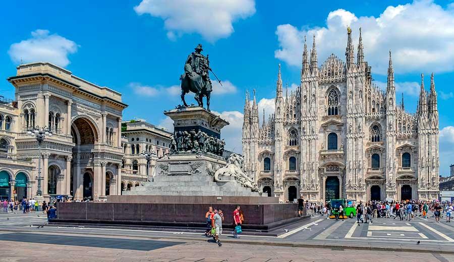 Plaza Del Duomo de Milán