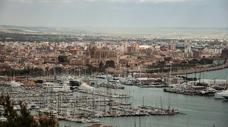 Panorámica de Palma de Mallorca
