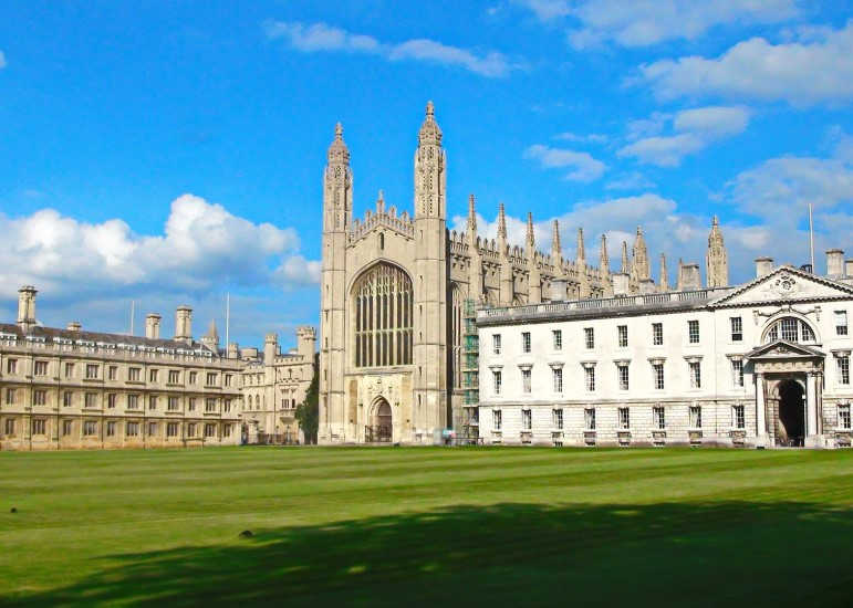Cambridge Kings College-Este de Inglaterra-Cambridgeshire