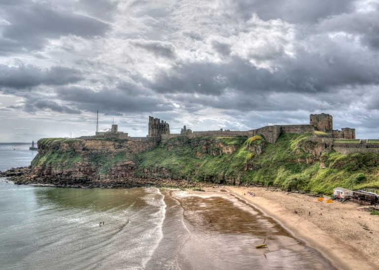 Castillo de Newcastle-Nordeste de Inglaterra-Tyne y Wear