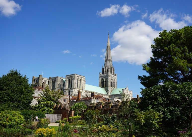 Catedral de Chichester-Sudeste de Inglaterra-Surrey Occidental