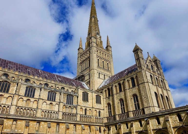 Catedral de Norwich-Este de Inglaterra-Norfolk