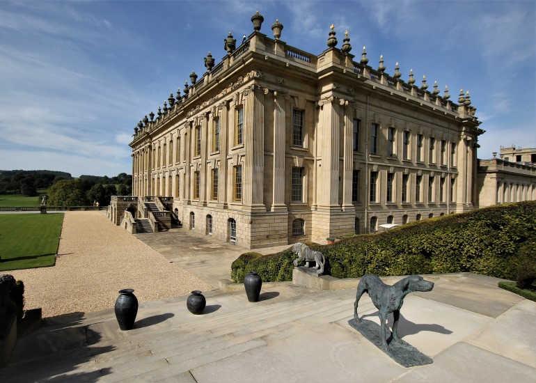 Chatsworth House-Midlands del Este-Derbyshire