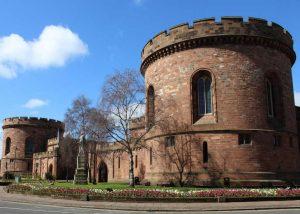 Ciudadela de Carlisle-Noroeste de Inglaterra-Cumbria