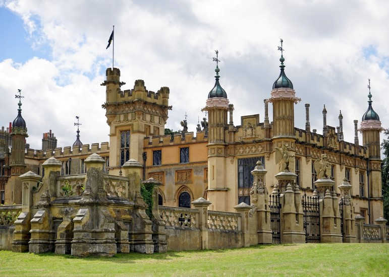 Knebworth House-Este de Inglaterra-Hertfordshire