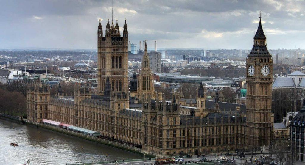 Palacio de Westminster-Gran Londres
